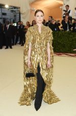 Evan Rachel Wood At Heavenly Bodies: Fashion & The Catholic Imagination Costume Institute Gala in New York