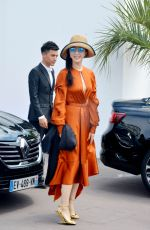 Fan Bing Bing Sighting During the 71st Cannes Film Festival