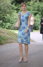 Fiona Bruce At Chelsea Flower Show, Press Day, London, UK
