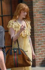 Florence Welch Spotted leaving her hotel in New York City
