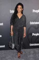 Freema Agyeman At Entertainment Weekly and People Upfronts Party, Bowery Hotel, New York