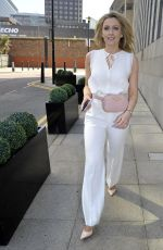 Gemma Merna Arrives For The Christening Of Jennifer Metcalfes Baby In Liverpool