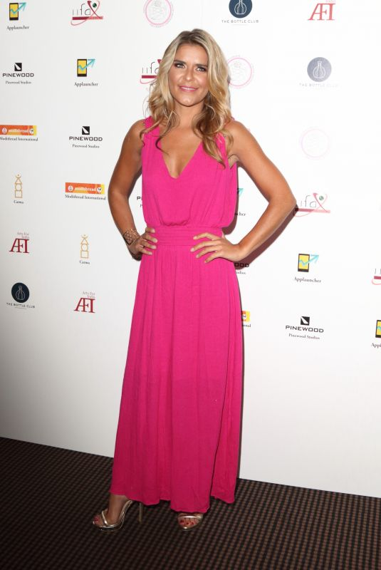 Gemma Oaten At Arts For India Gala at BAFTA Piccadilly in London