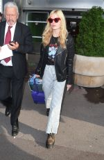 Georgia May Jagger Arrives at Nice Aiport for Cannes Film Festival