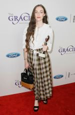 Hailey Gates At Gracie Awards, Los Angeles
