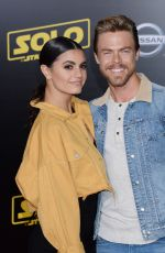 "Hayley Ebert and Derek Hough At ""Solo: A Star Wars Story"" World Premiere in Los Angeles"