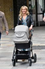 Heidi Range Outside the ITV Studios in London