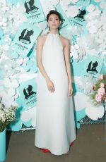 Hikari Mori At Tiffany & Co. jewelry collection launch in New York