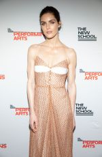 Hilary Rhoda At The New School 70th Annual Parsons Benefit, New York