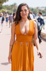 Inanna Sarkis At the Croisette in Cannes