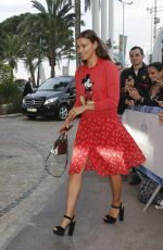 Irina Shayk Leaving her hotel during the 71st Cannes Festival 2018