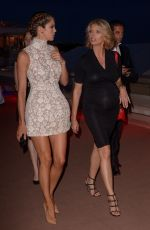 Iris Mittenaere and Sylvie Tellier Sighting During 71st Cannes Film Festival