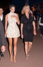 Iris Mittenaere & Sylvie Tellier At Night out in Cannes