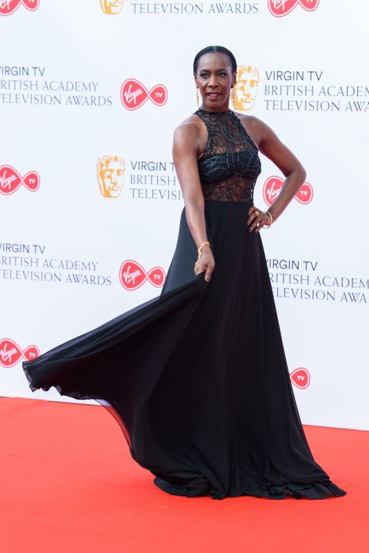 Jacqueline Boatswain At British Academy Television Awards, Royal Festival Hall, London, UK