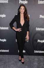 Janet Montgomery At Entertainment Weekly and People Upfronts Party, Bowery Hotel, New York