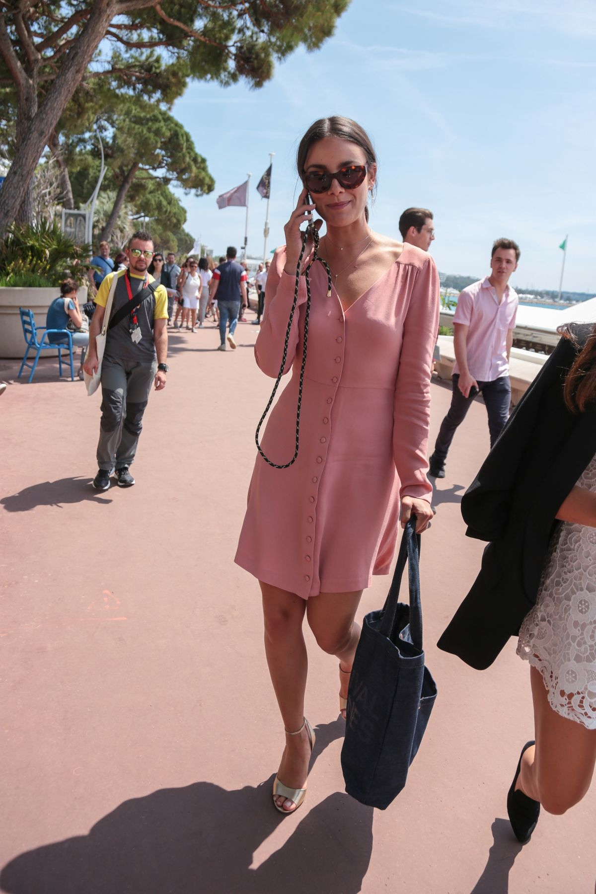 f3e9551fc272 Janina Uhse Sighting at the croisette in Cannes