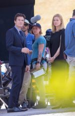 "Jason Bateman & Laura Linney Filming the season finale of ""Ozark"" Season 2 in Atlanta"