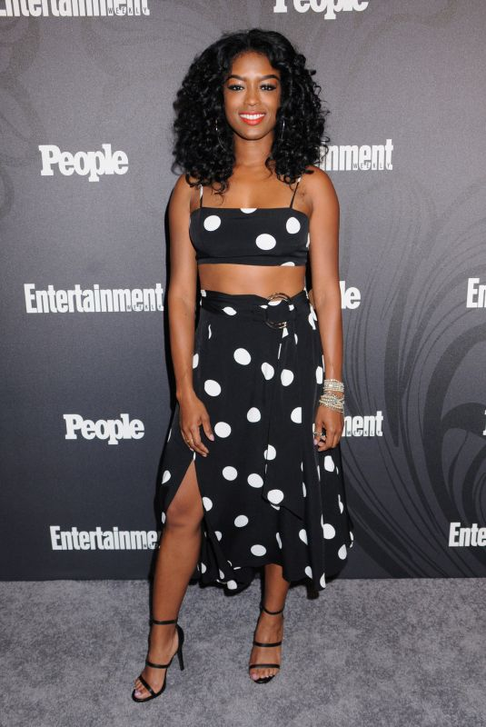Javicia Leslie At Entertainment Weekly and People Upfronts Party, Bowery Hotel, New York