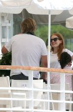 Jessica Chastain At Eden Roc Hotel during the 71st annual Cannes Film Festival