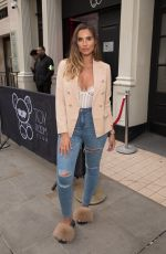 Jessica Shears At Missguided new fragrance launch party at Franks Bedroom at The Toy Room Club, London