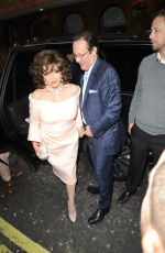 Joan Collins At Hello! Magazine x Dover Street Market 30th anniversary party, London, UK