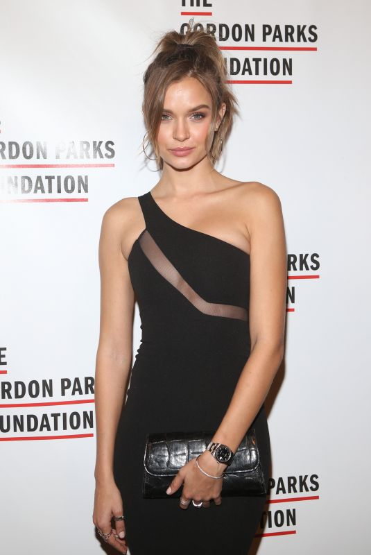 Josephine Skriver At The Gordon Parks Foundation Annual Awards Dinner at Cipriani 42nd Street in New York