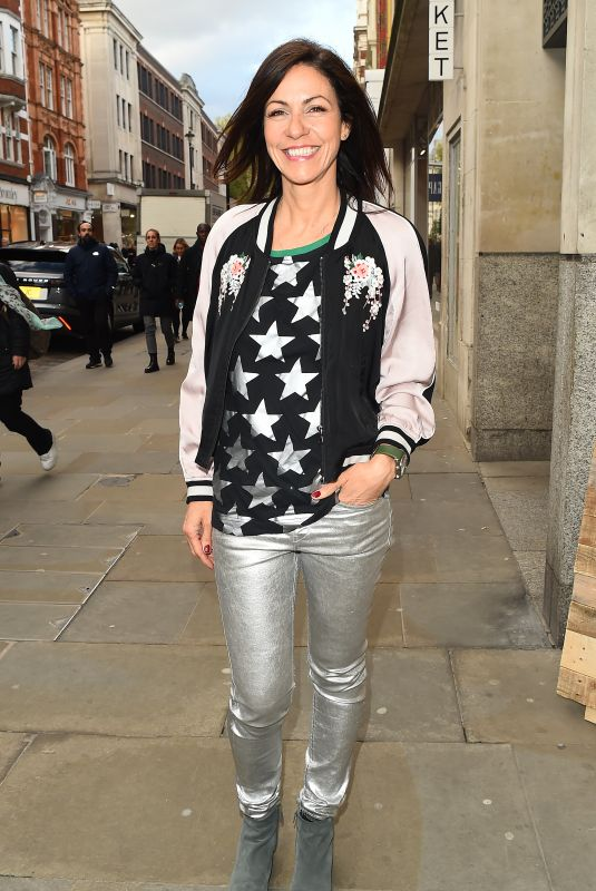 Julia Bradbury Attends The Rubbish Cafe launch party in London