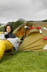 Julia Bradbury Lights up the Great Ridge in the Peak District National Park