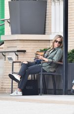 Julie Benz Shopping at Barneys New York. Los Angeles, California