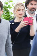 Julie Gayet At The State Against Mandela Photocall During The 71st Cannes Film Festival