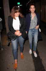 Kate Walsh Keeps it causal for dinner at Craig