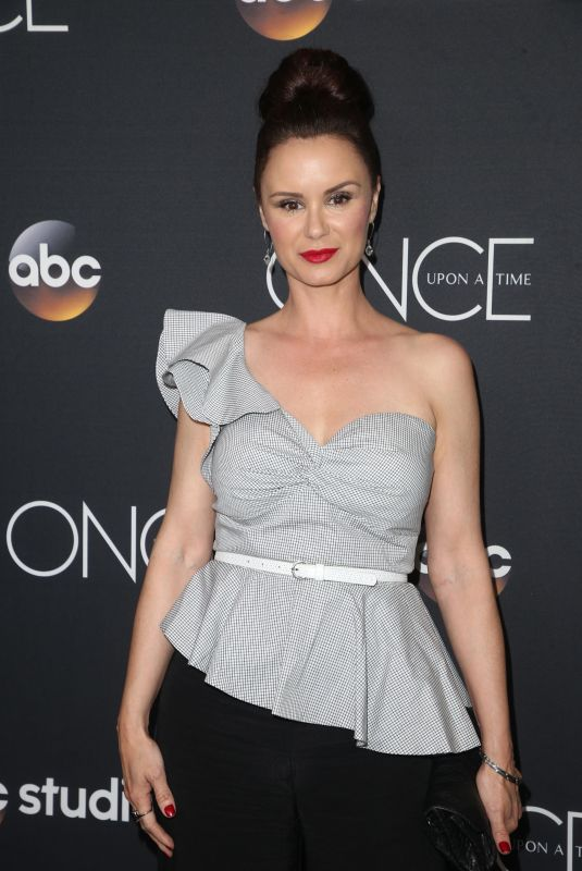Keegan Tracy At Once Upon a Time Finale Event