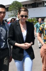 Kristen Stewart Spotted out and about in Cannes