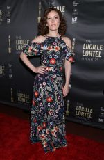 Laura Benanti At 33rd Annual Lucille Lortel Awards at NYU Skirball Center