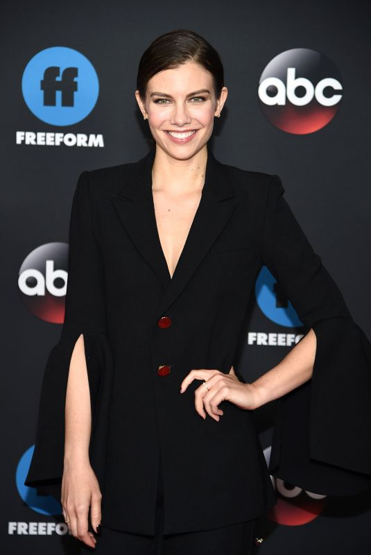 Lauren Cohan At Disney ABC Upfront Presentation in New York City