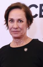 Laurie Metcalf At Tony Awards Nominees photocall in NY