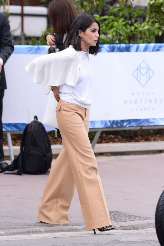 Leila Bekhti Seen in Cannes