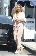 Leona Lewis After lunch with a friend in Los Angeles
