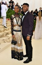 Letitia Wright At Heavenly Bodies: Fashion & The Catholic Imagination Costume Institute Gala in New York City