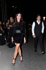 Liliana Nova Leaves Hotel Martinez in Cannes