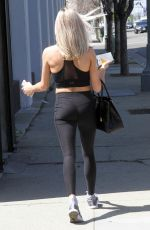 Lindsay Arnold Arriving at the Dancing with the stars Rehearsal Studio in Los Angeles