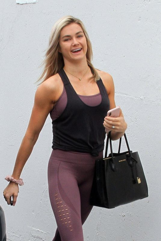 Lindsay Arnold At the Dancing With The Stars dance studio in Hollywood