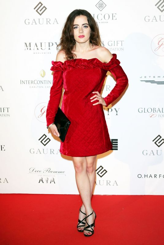 Lou Gala At Global Gift Initiative, 71st Cannes Film Festival, France