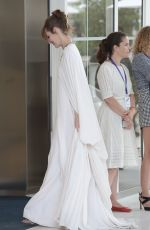 Louise Bourgoin Seen in Cannes