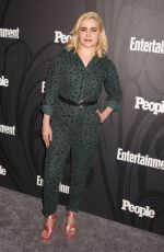 Mae Whitman At Entertainment Weekly and People Upfronts Party, Bowery Hotel, New York