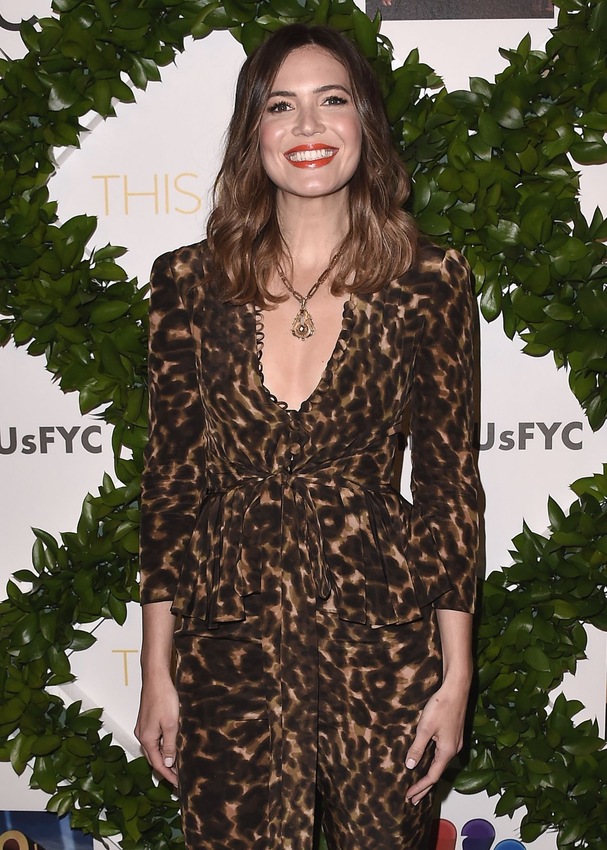 Mandy Moore At 20th Century Fox Television and NBC's 'This