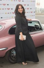 Martine McCutcheon At World Premiere of Bromley Boys held at Wembley Stadium, London