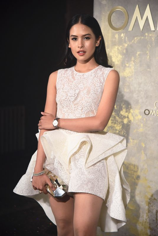 Maudy Ayunda Attends Omega Tresor Watch Collection event in Berlin in Germany