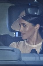 Meghan Markle Leaving Kensington Palace in London
