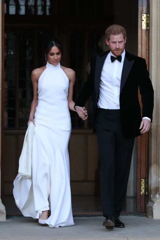 Meghan Markle & Prince Harry Leaving Windsor Castle and heading to Frogmore House in Windsor